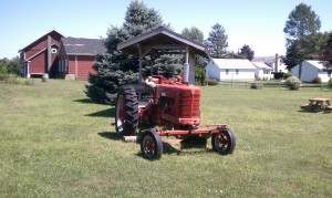 One Woman tractor