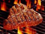 Porterhouse grilling