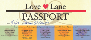 Love Lane Passport