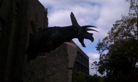 Dinosaur at Yale Peabody