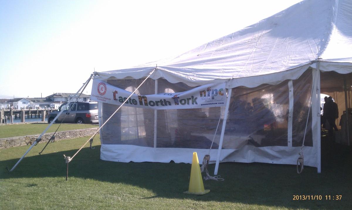 Greenport Village Tent