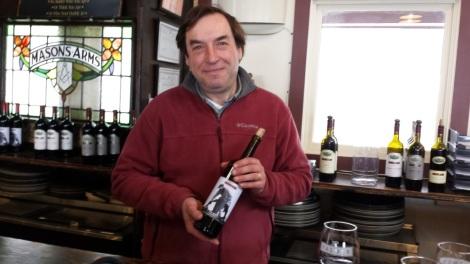 Miguel Martin at Palmer Vineyards