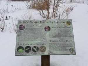SOFO butterfly garden